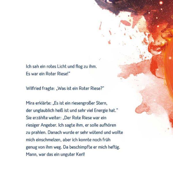 Wilfried der einsame Stern - Das Buch Inhalt