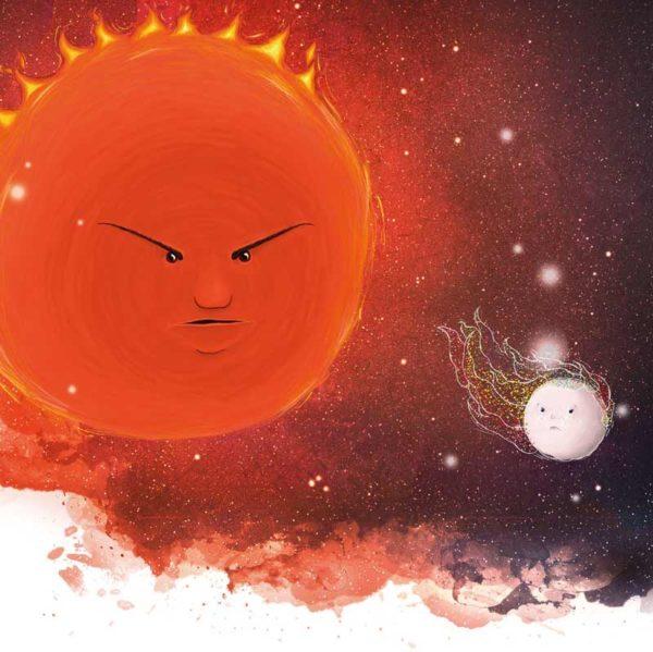 Wilfried der einsame Stern - Roter Riese