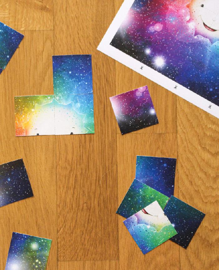 Wilfried der einsame Stern - Puzzle