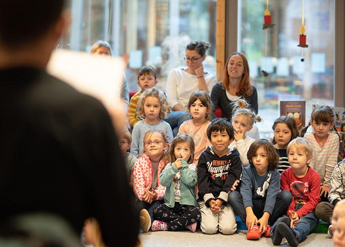 Lesung Kindergarten - Werner Wiechenthaler