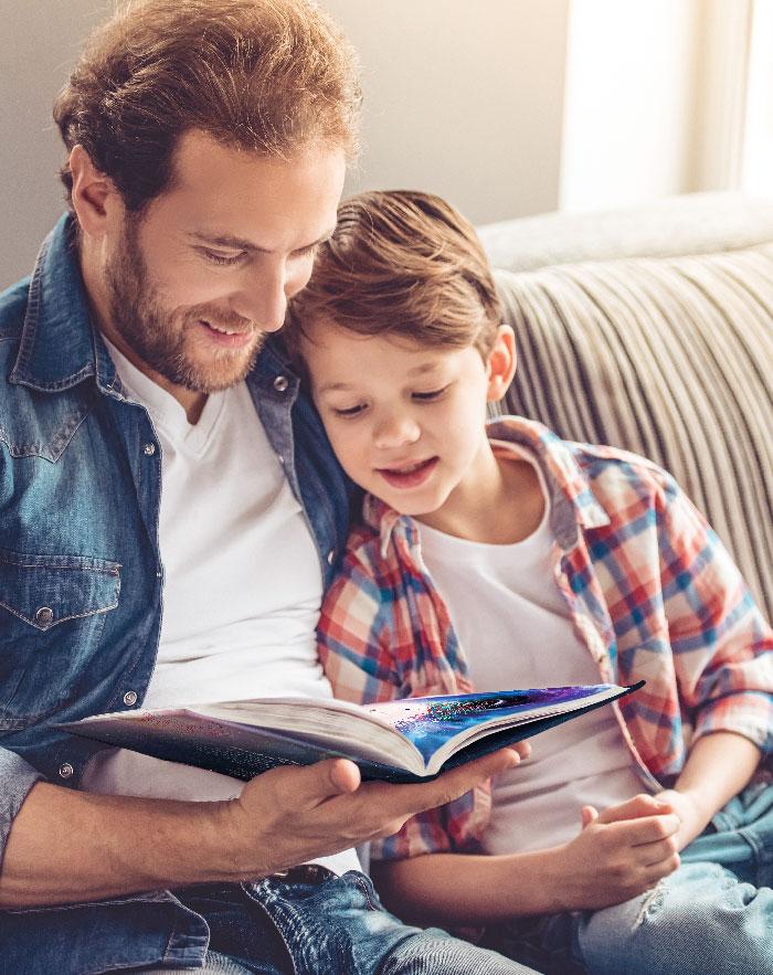 Vater Sohn lesen - Wilfried, der einsame Stern